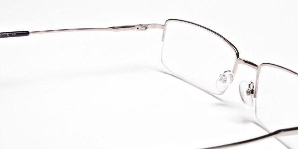 Rectangular glasses in Silver - 6