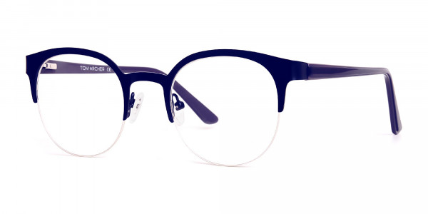 dark-blue-half-rim-round-glasses-frames-3
