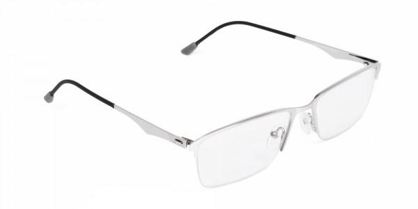 titanium rectangle glasses-2