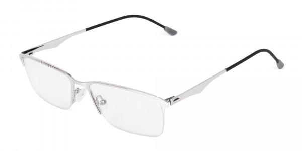 titanium rectangle glasses-3