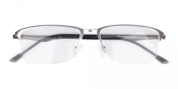 titanium rectangle glasses-6
