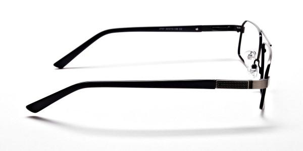 Navy blue gunmetal glasses - 4