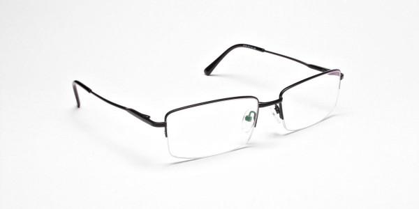 Rectangular glasses in Black- 2