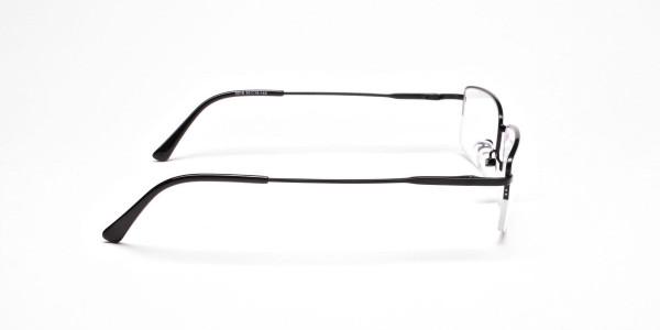 Rectangular glasses in Black - 4