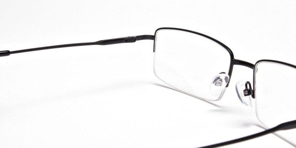 Rectangular glasses in Black - 5
