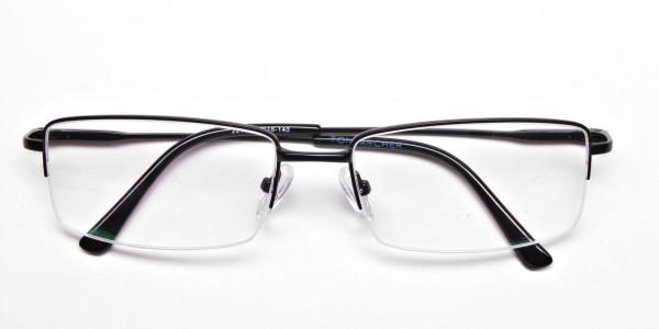 Rectangular glasses in Black - 6