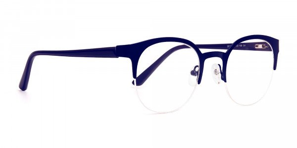dark-blue-half-rim-round-glasses-frames-2