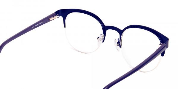 dark-blue-half-rim-round-glasses-frames-5