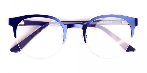 dark-blue-half-rim-round-glasses-frames-6