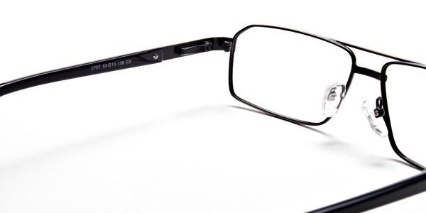 Navy blue gunmetal glasses  - 5