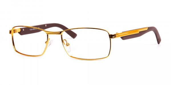 gold-and-matte-brown-rectangular-glasses-frames-3