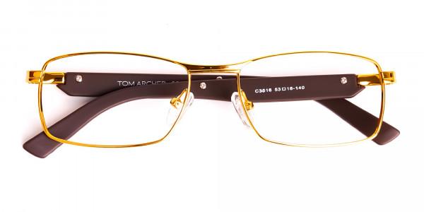 gold-and-matte-brown-rectangular-glasses-frames-6