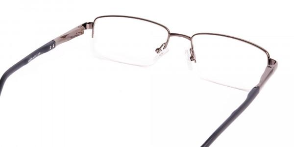 gunmetal-and-black-half-rim-rectangular-glasses-frames -5