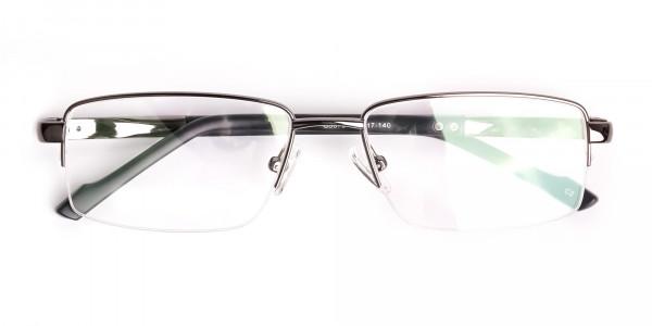 gunmetal-and-black-half-rim-rectangular-glasses-frames -6