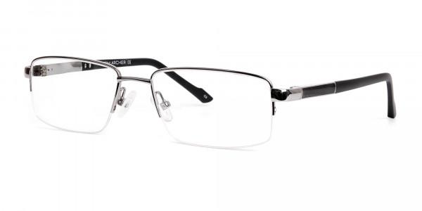 silver-and-black-half-rim-rectangular-glasses-frames -3