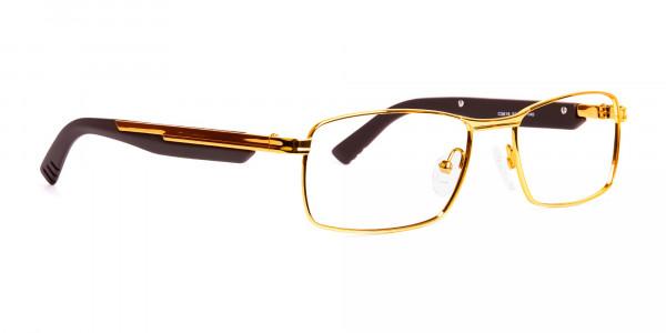 gold-and-matte-brown-rectangular-glasses-frames-2