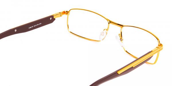 gold-and-matte-brown-rectangular-glasses-frames-5