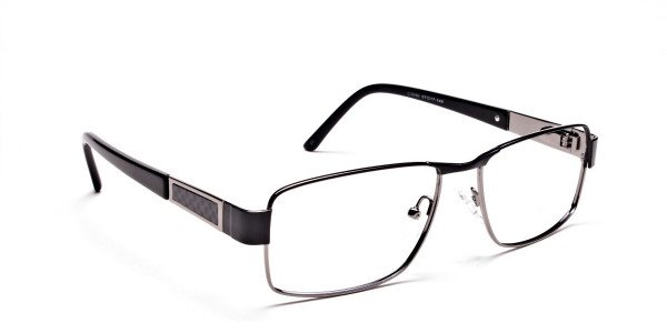 Black & Gunmetal Glasses -2
