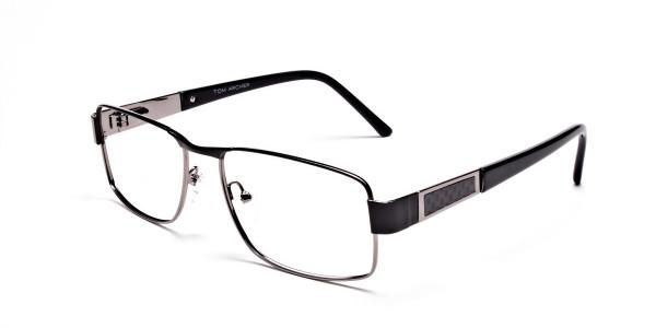 Black & Gunmetal Glasses -3