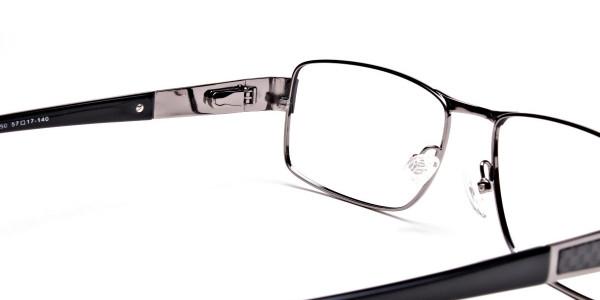 Black & Gunmetal Glasses-5