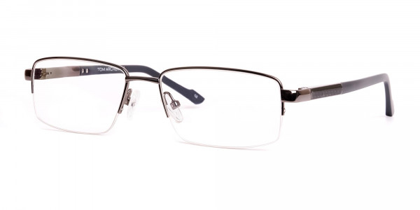 gunmetal-and-black-half-rim-rectangular-glasses-frames -3
