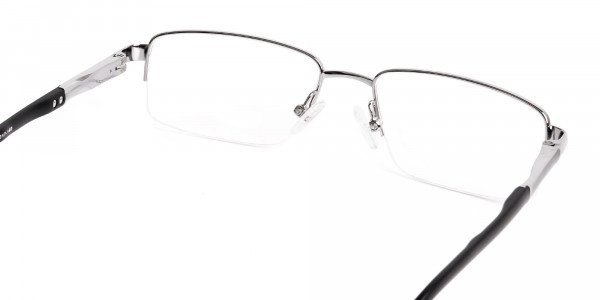 silver-and-black-half-rim-rectangular-glasses-frames -5