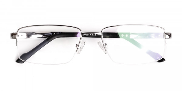 silver-and-black-half-rim-rectangular-glasses-frames -6
