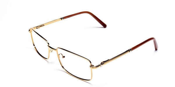 Stunning Gold & Caramel Kings Frame-3