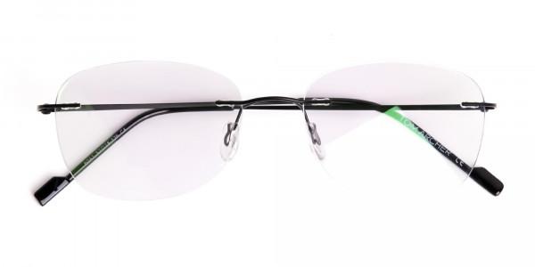 black-wayfarer-rimless-wayfarer glasses-frames-6