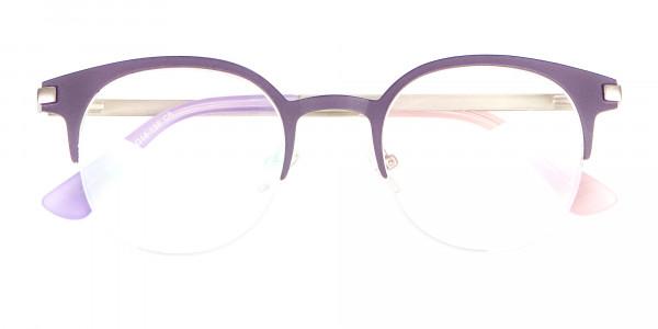 Violet Purple Browline Glasses Glasses Online-6
