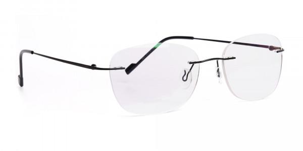 black-wayfarer-rimless-wayfarer glasses-frames-2