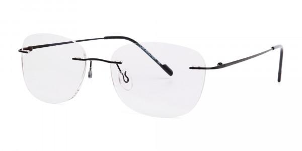 black-wayfarer-rimless-wayfarer glasses-frames-3