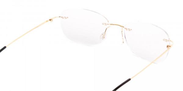 gold-rimless-titanium-glasses-frames-5