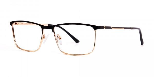 black-and-gold-metal-rectangular-full-rim-glasses-frames-3