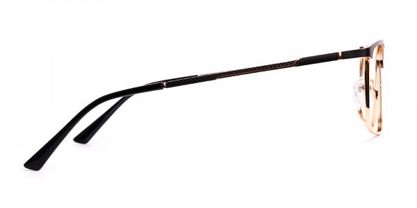 black-and-gold-metal-rectangular-full-rim-glasses-frames-4