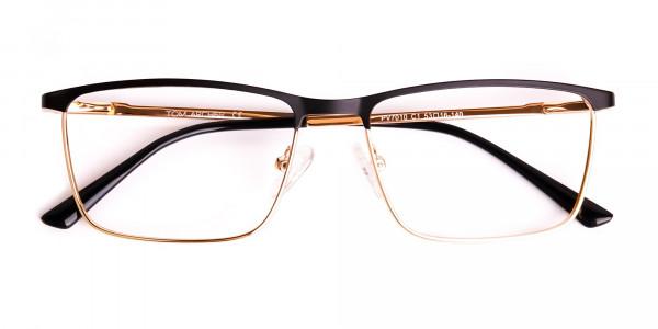 black-and-gold-metal-rectangular-full-rim-glasses-frames-6