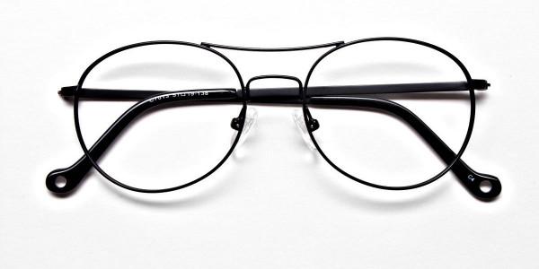 Black Round Glasses, Eyeglasses -6