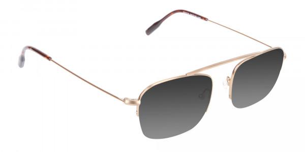 Gold Metal Sunglasses - 2