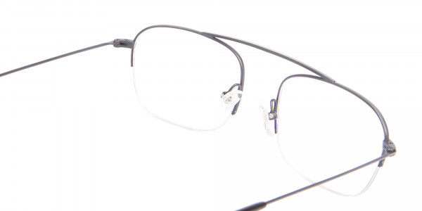 Detail Semirimless Frame Silver Bridgeless -5