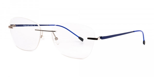 silver-and-blue-cateye-rimless-glasses-frames-3