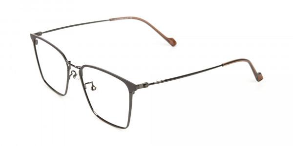Gunmetal Wayfarer Glasses in Lightweight Metal-3
