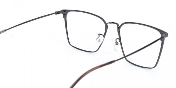 Gunmetal Wayfarer Glasses in Lightweight Metal-5