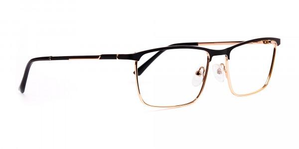 black-and-gold-metal-rectangular-full-rim-glasses-frames-2