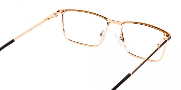 black-and-gold-metal-rectangular-full-rim-glasses-frames-5