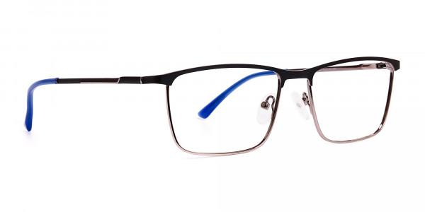 black-and-blue-gunmetal-rectangular-full-rim-glasses-frames-2