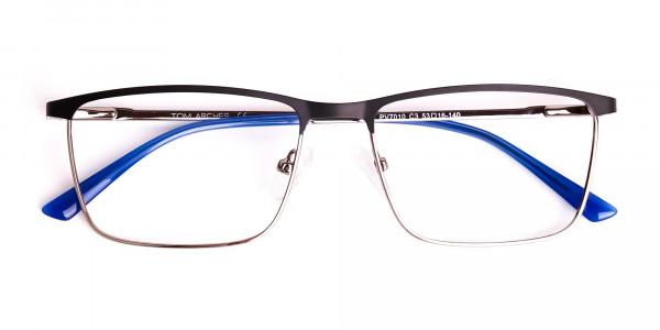 black-and-blue-gunmetal-rectangular-full-rim-glasses-frames-6