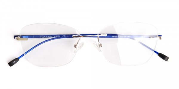silver-and-blue-cateye-rimless-glasses-frames-6