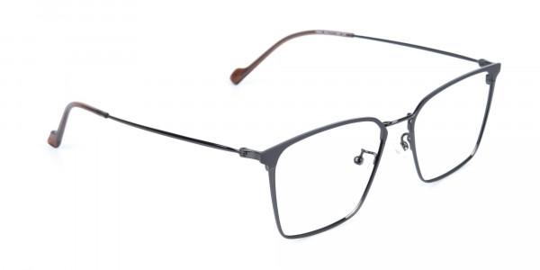 Gunmetal Wayfarer Glasses in Lightweight Metal-2