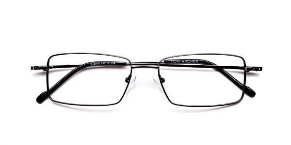 Titanium Glasses in Gunmetal, Eyeglasses - 6