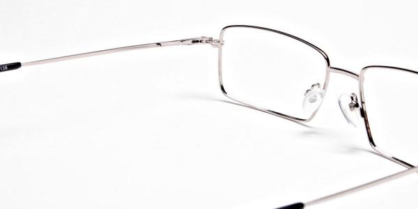 Titanium Glasses in Silver, Eyeglasses - 5